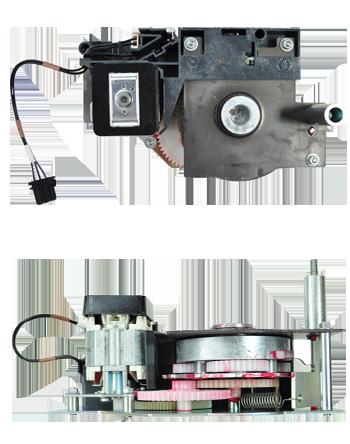 Masterpact M spring charging motor